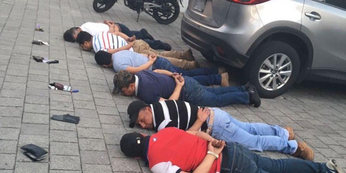 Capturan a banda dedicada al secuestro, sicariato y tumbe de droga