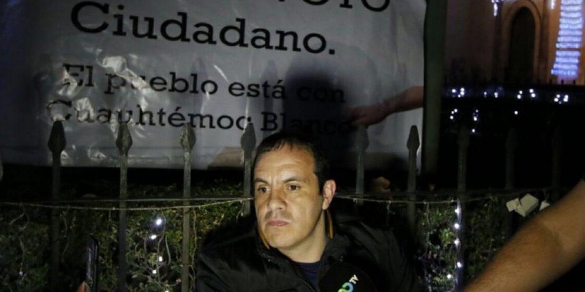 Famoso exfutbolista Cuauhtémoc Blanco conmociona con su huelga de hambre