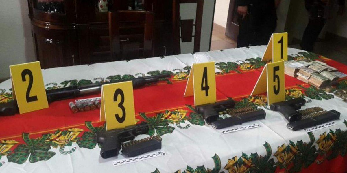 Operativo de 25 allanamientos en Suchitepéquez deja preliminarmente 12 capturas