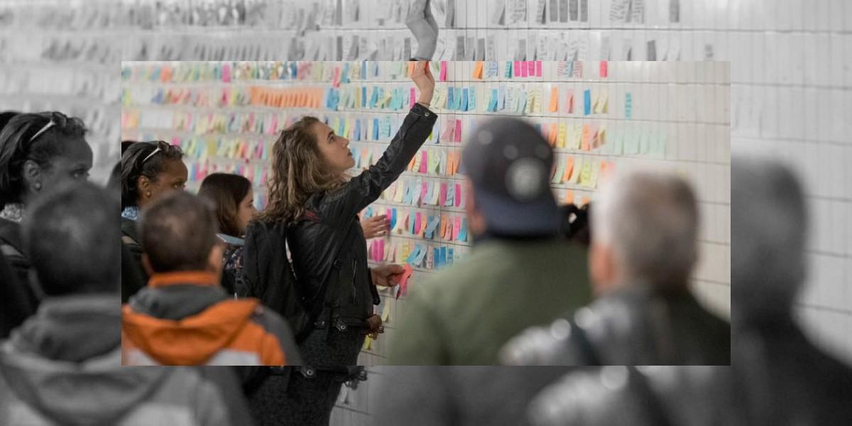 Mensajes dejados en el metro de Nueva York serán enviados a museo