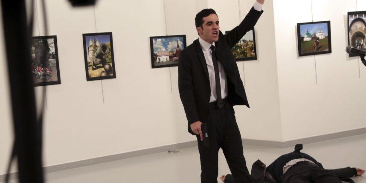 VIDEO. Momento exacto del asesinato del embajador ruso en Turquía
