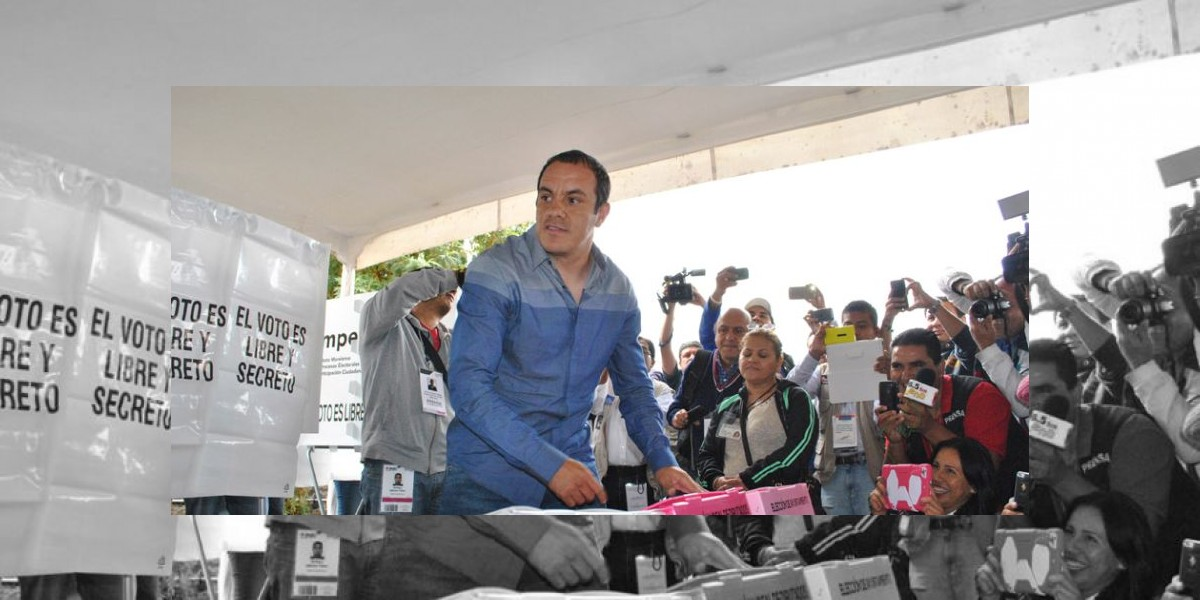 Exfutbolista Cuauhtémoc Blanco concluye huelga de hambre en México