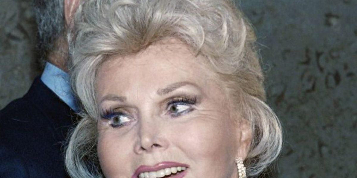 Muere la leyenda de Hollywoord Zsa Zsa Gabor a los 99 años