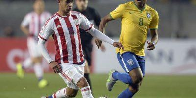 Paraguay. Se clasificó como segundo lugar del grupo B donde empató ante Argentina y Uruguay y venció a Jamaica. Foto:AFP