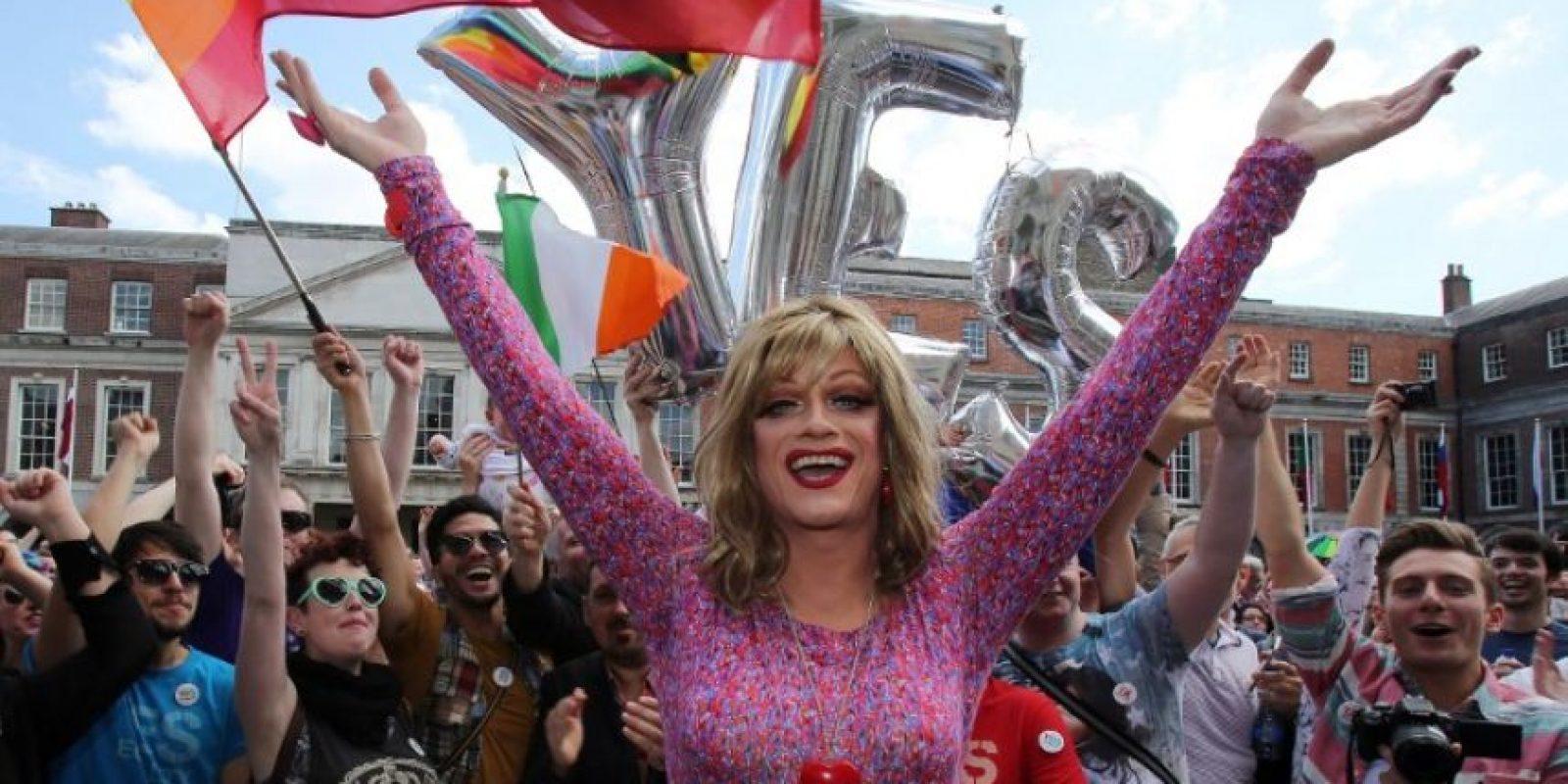 3. Irlanda aprueba los matrimonios entre parejas del mismo sexo por referéndum Foto:AFP