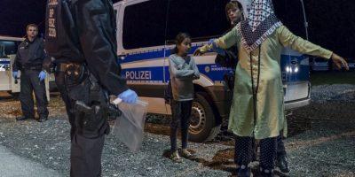Refugiada es detenida junto con su hija en Alemania. Foto:AFP