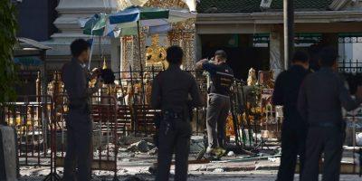 El atentado se produjo dentro del Santuario de Erawan. Foto:AFP