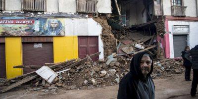 """""""Estamos monitoreando, en las regiones afectadas, el nivel de los daños. Es un análisis que dará próximamente la Oficina Nacional de Emergencia del Ministerio del Interior y Seguridad Pública (ONEMI)"""", informó la presidenta Foto:AFP"""