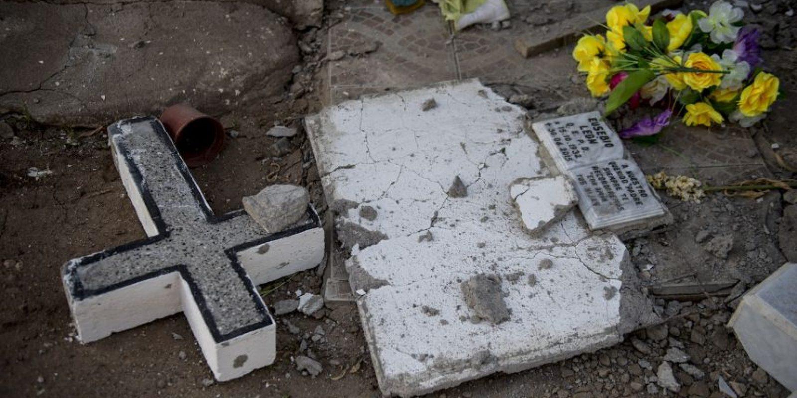 Además de alerta de tsunami, que horas después fue cancelada Foto:AFP