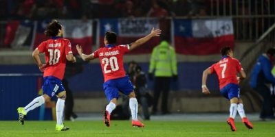 Chile marcha invicto en el torneo Foto:AFP