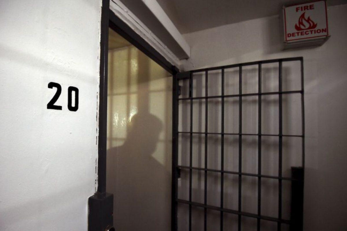 Tenía la celda número 20 en el penal de máxima seguridad Foto:AFP
