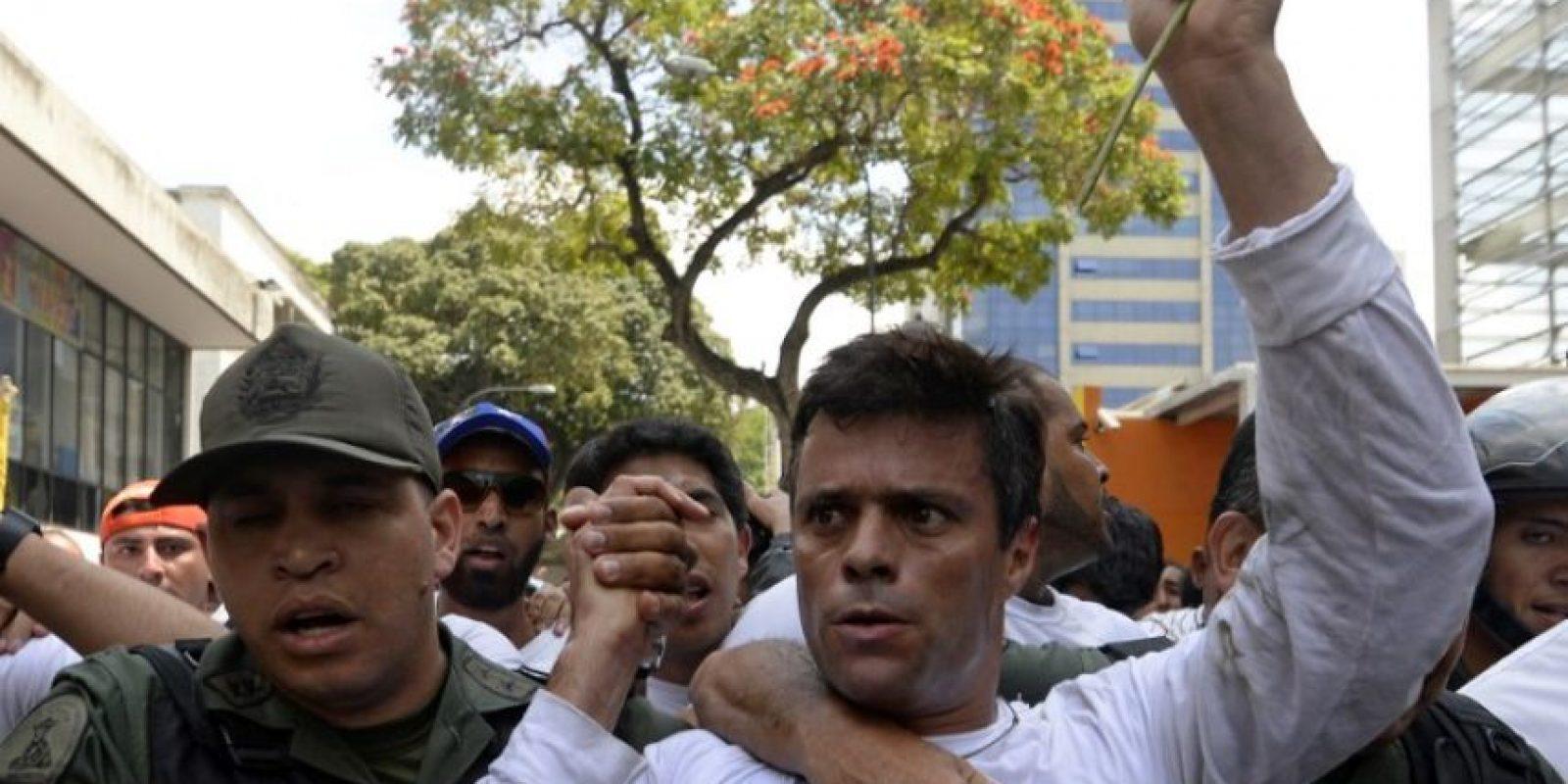 La sentencia de Leopoldo López Foto:AFP