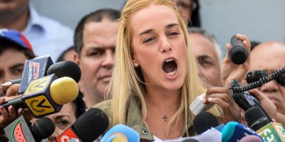 Incluso, la Iglesia Católica venezolana repudió los 13 años y 9 meses de cárcel Foto:AFP