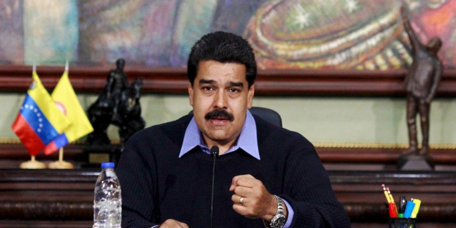 """El presidente venezolano enfrenta una serie de """"frentes"""" Foto:AFP"""