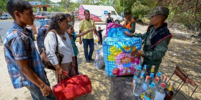 """Los efectivos militares realizaban un operativo contra el denominado """"contrabando de extracción"""", realizado por los """"bachaqueros"""" (forma en la que el Gobierno venezolano se refiere a los contrabandistas) Foto:AFP"""