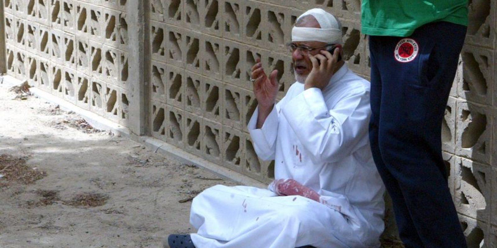 3. El atacante fue identificado como Abu Suleiman al-Muwahed. Foto:AFP