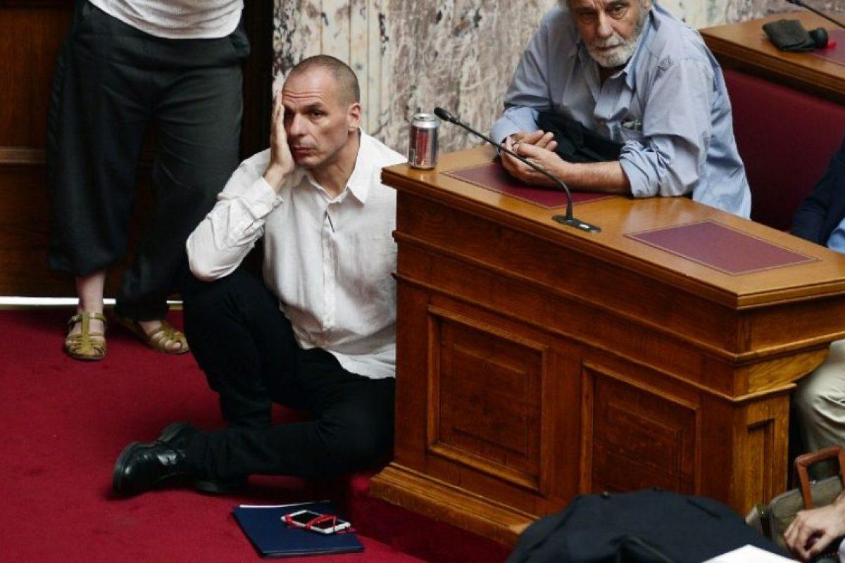 """""""Esto es prácticamente la crónica de una moratoria anunciada"""", comentó Eduardo Rosales Herrera. """"La situacion es muy compleja, pero se esperaba"""". Foto:AFP"""