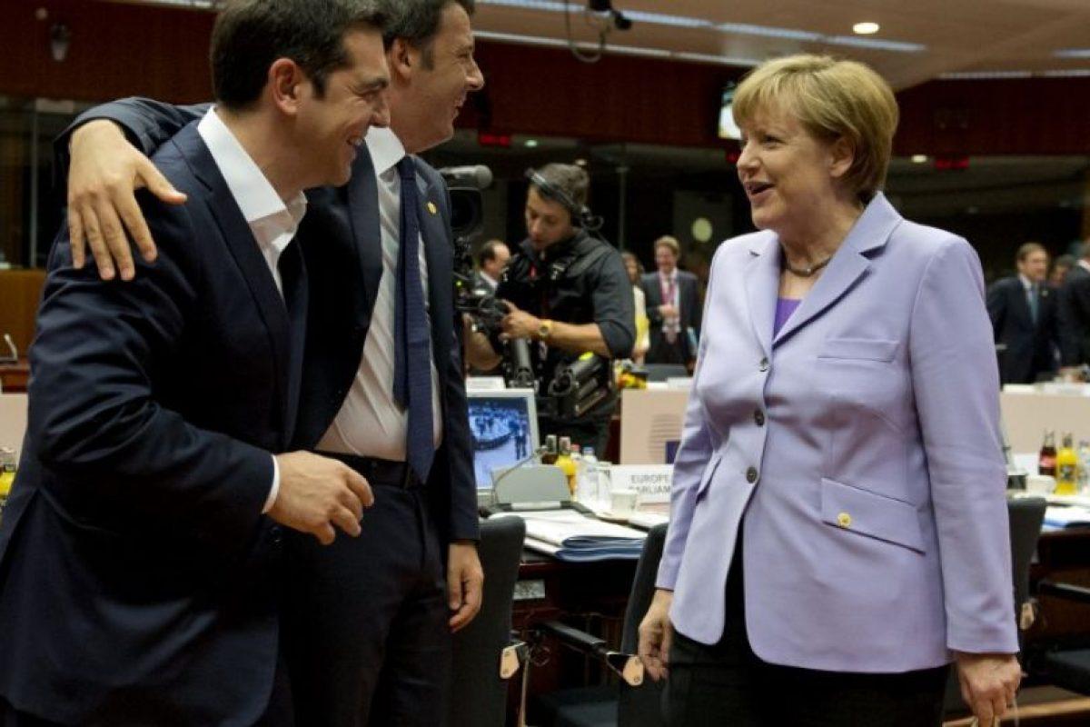"""""""Esto es lo que le han trasmitido a Angela Merkel, quien ha sido la más exigente junto a Finlandia para tratar de disciplinar la economía griega"""", comenta Sohr. Foto:AFP"""