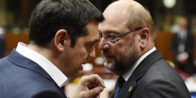 La Troika: El Banco Central Europeo, Fondo Monetario Internacional y la Unión Europea Foto:AFP