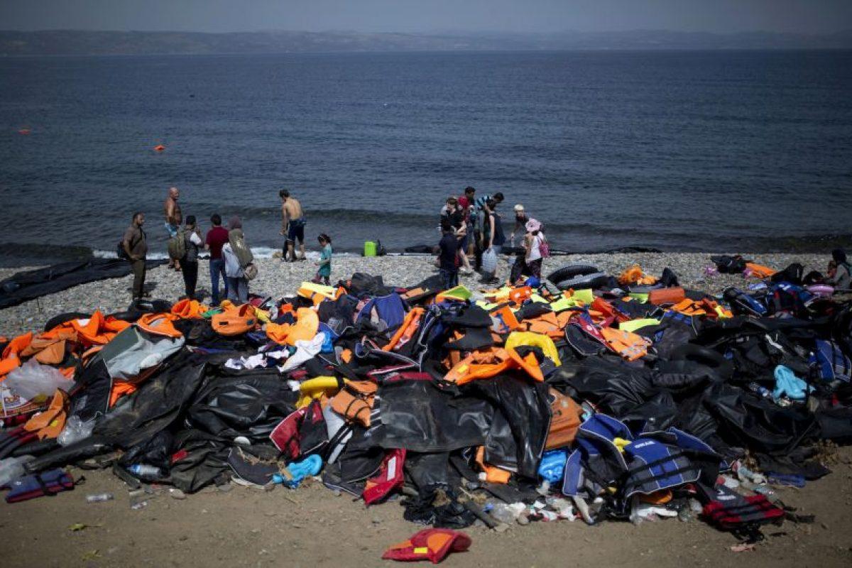 La Unión Europea busca pactar hoy el acuerdo para distribuir a 120 mil refugiados por el continente. Foto:AFP
