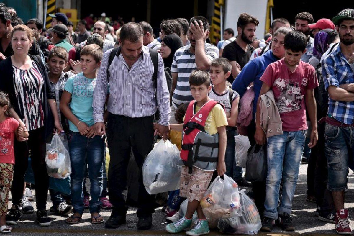 Un total de 120 mil refugiados han llegado solo a Grecia, Hungría y Italia. Foto:AFP