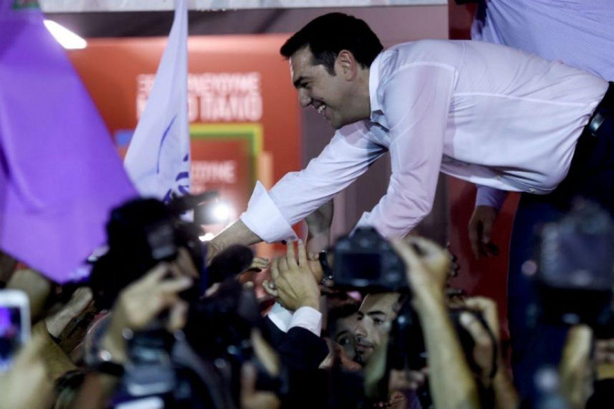 Alexis Tsipras es un político griego Foto:AFP