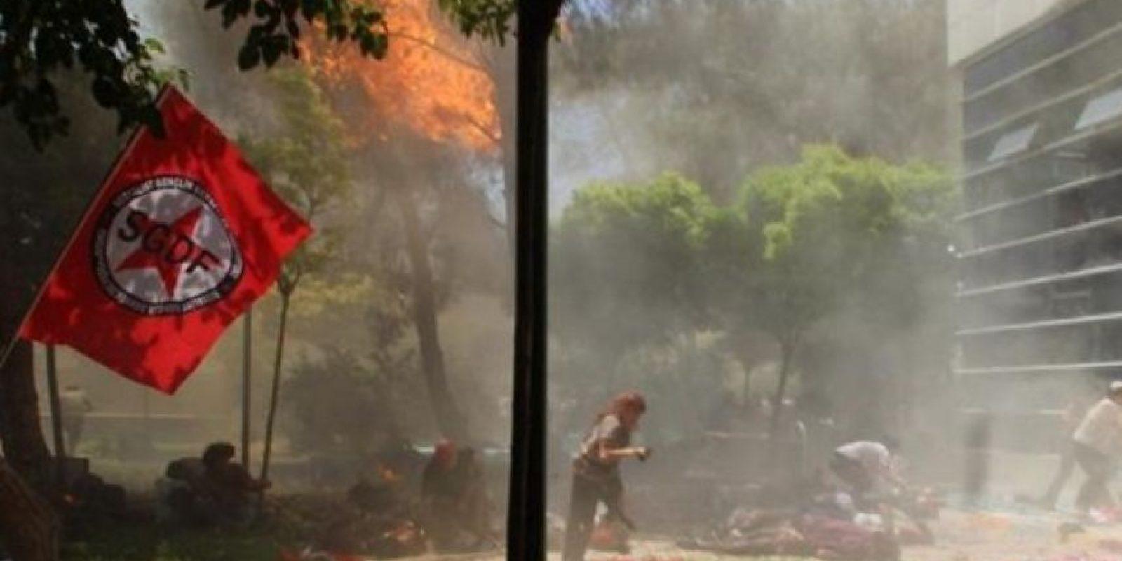 5. Explosiones en el Centro Cultural Amara, en Turquía Foto:AFP