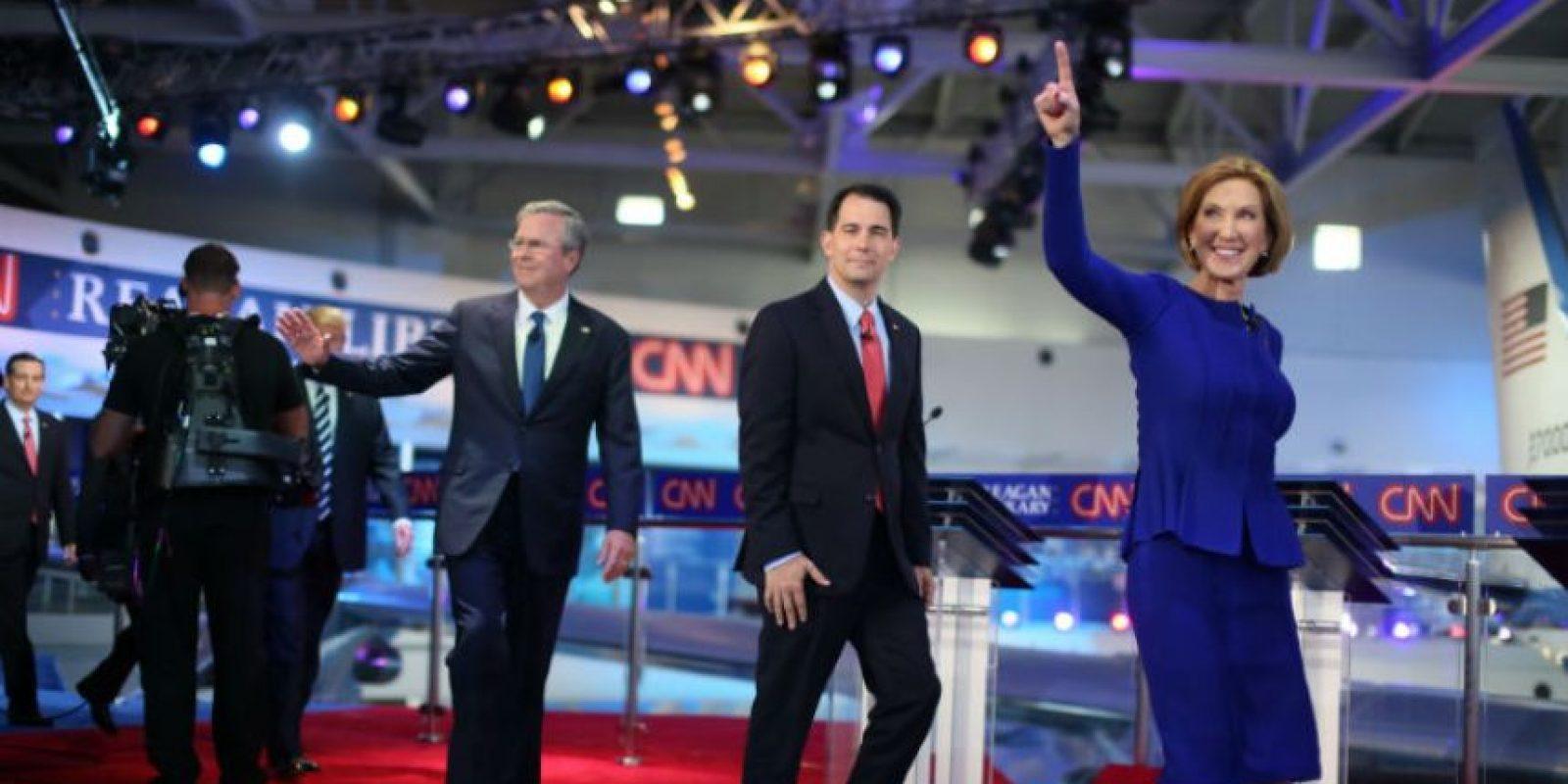 Se ha convertido en una de las favoritas para representar al Partido Republicano. Foto:AFP