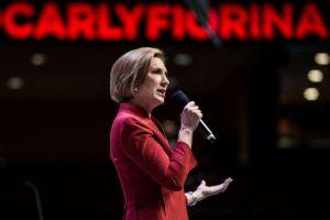 Es la única mujer entre los 15 candidatos republicanos aspirantes a la Casa Blanca en el 2016. Foto:AFP