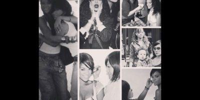 Mylah Morales es la maquillista oficial de Rihanna. Foto:Vía instagram.com/mylahmorales