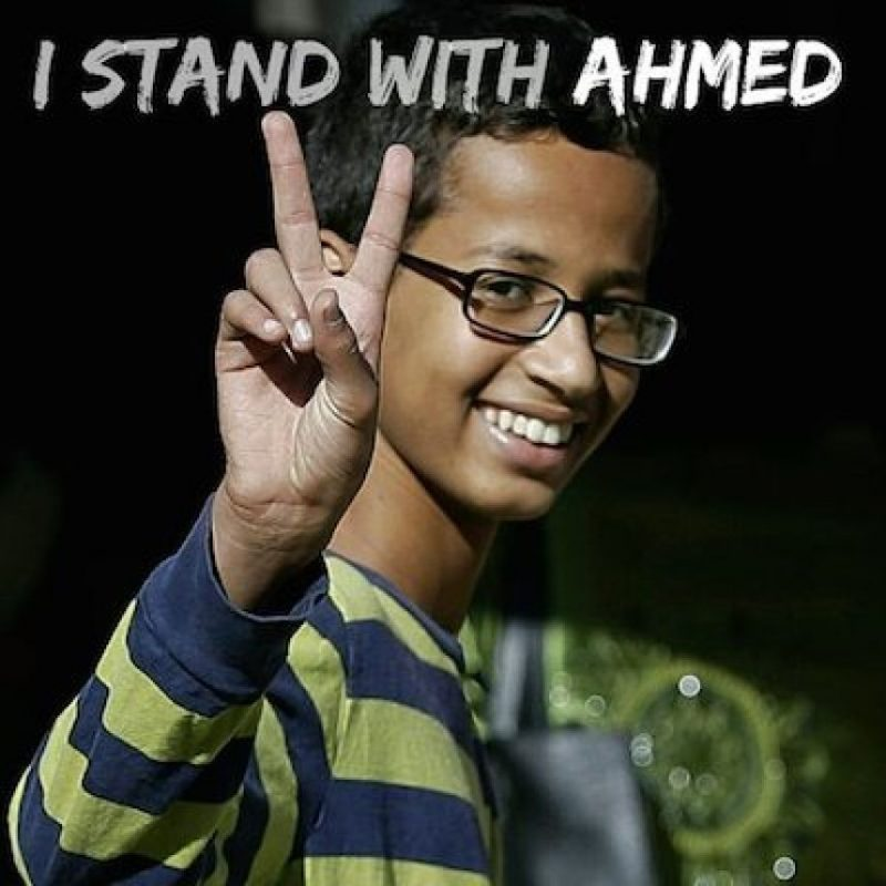 Foto:Instagram.com/explore/tags/istandwithahmed/