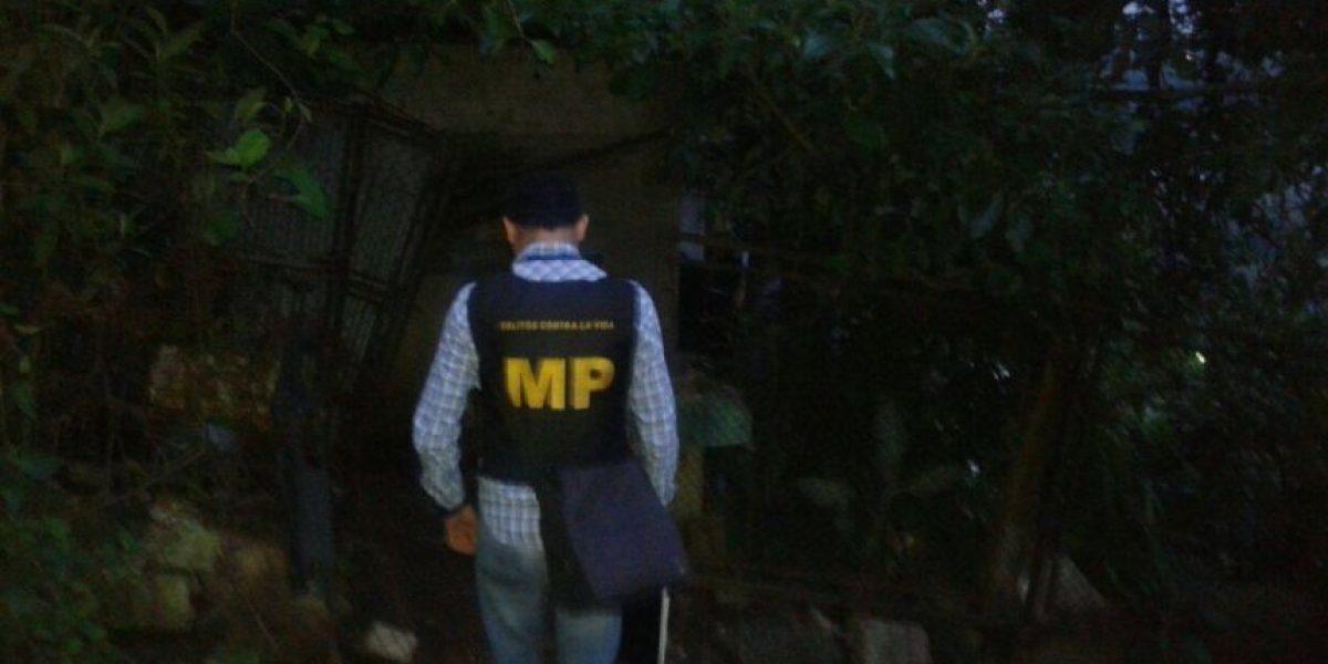 MP logra varias capturas de supuestos pandilleros en allanamientos