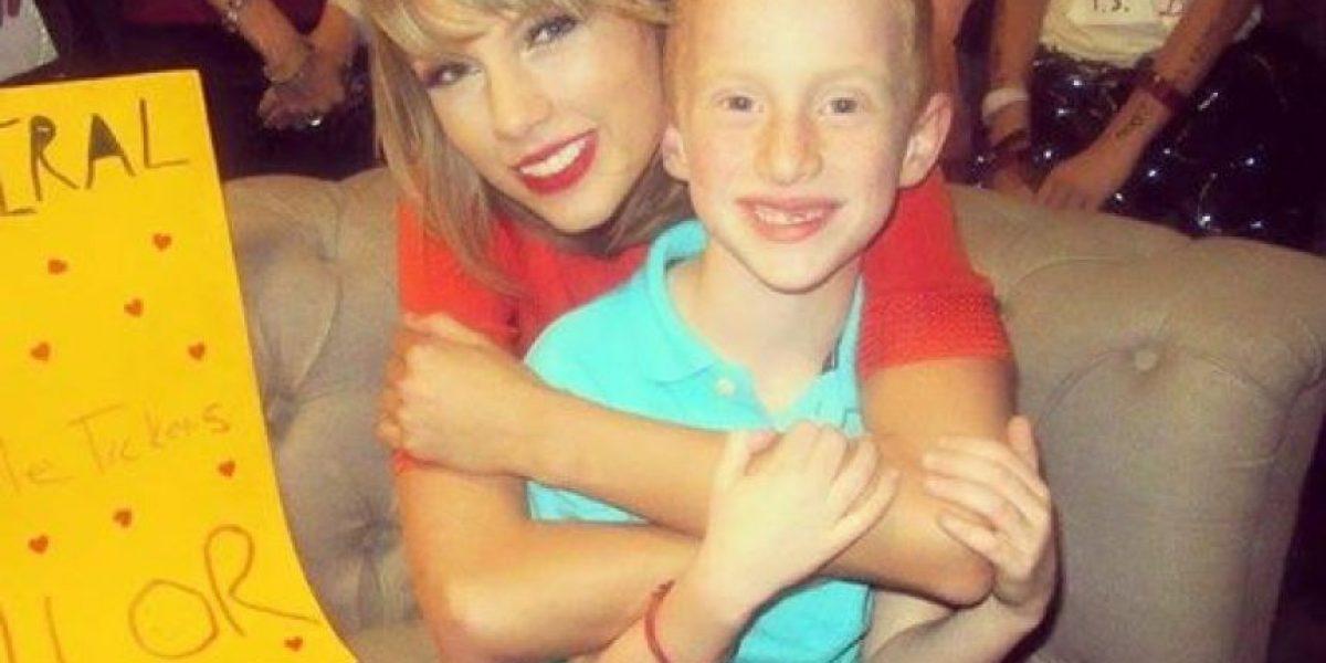 Video: Taylor Swift se enfrentó a un fan de 7 años en un duelo de baile