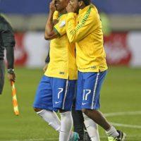 """Los """"verdeamarelas"""" anotaron cuatro goles, pero recibieron tres por lo que su diferencia es de +1. Foto:Vía www.facebook.com/CBF"""