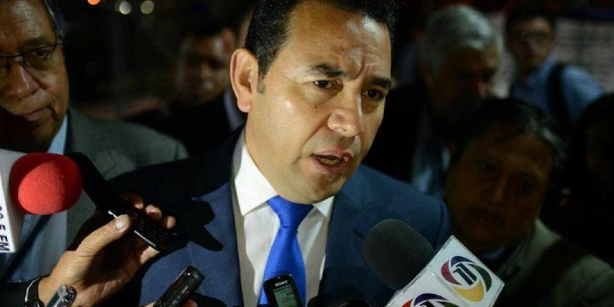 Jimmy Morales supera el millón de votos en conteo preliminar del TSE
