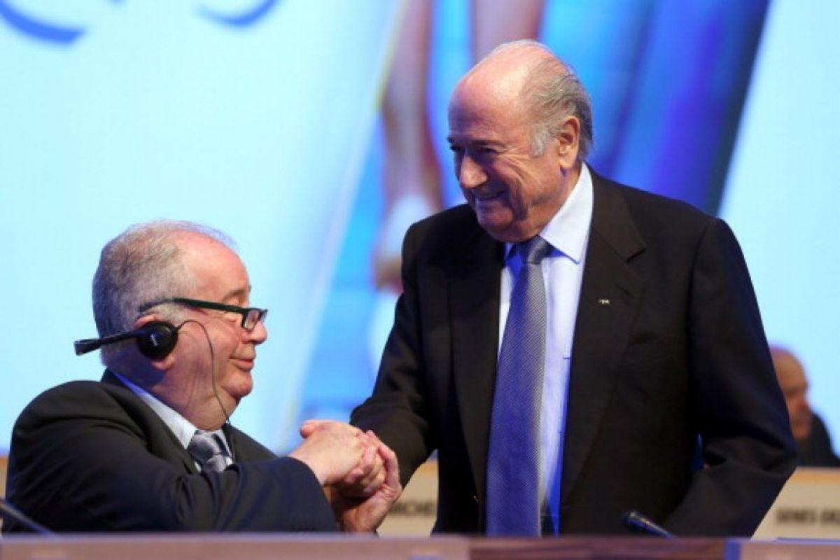 Grondona tomó las riendas del fútbol argentino en 1979 y sólo la muerte lo separó de su cargo, en 2014. Foto:Getty Images