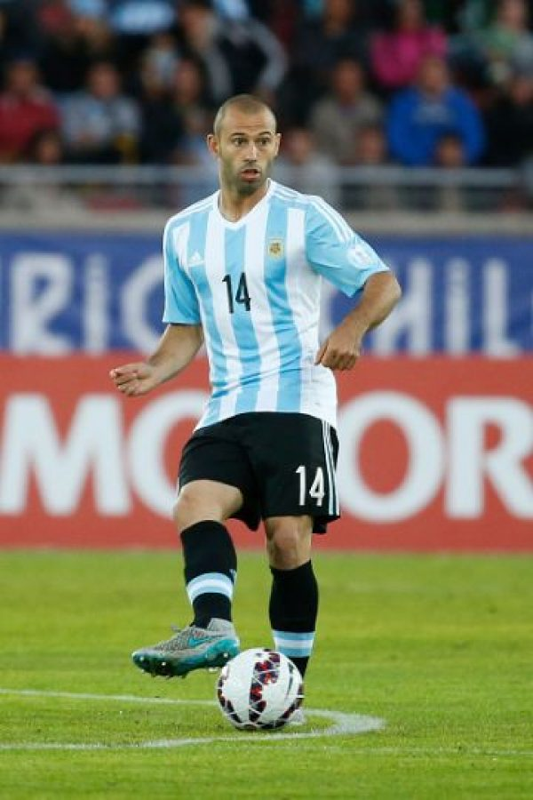 MEDIOS: Javier Mascherano (Argentina) Foto:Getty Images
