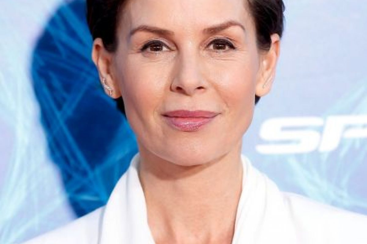 """Su último rol de importancia ha sido en """"Mad Men"""", la serie de HBO. También es la madre de Peter Parker en """"El Extraordinario Hombre Araña"""" Foto:Getty Images"""