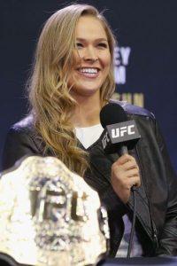 Ahora se prepara para su combate del próximo 14 de noviembre frente a Holly Holm en UFC 193. Foto:Getty Images