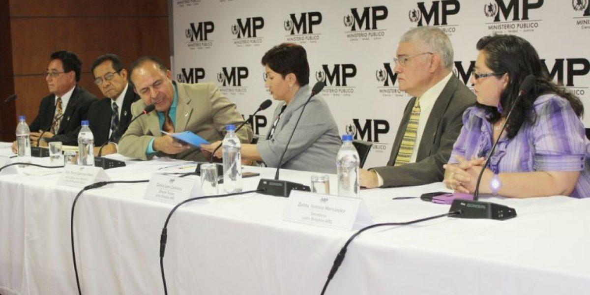 APG plasma su apoyo al Ministerio Público y a la CICIG