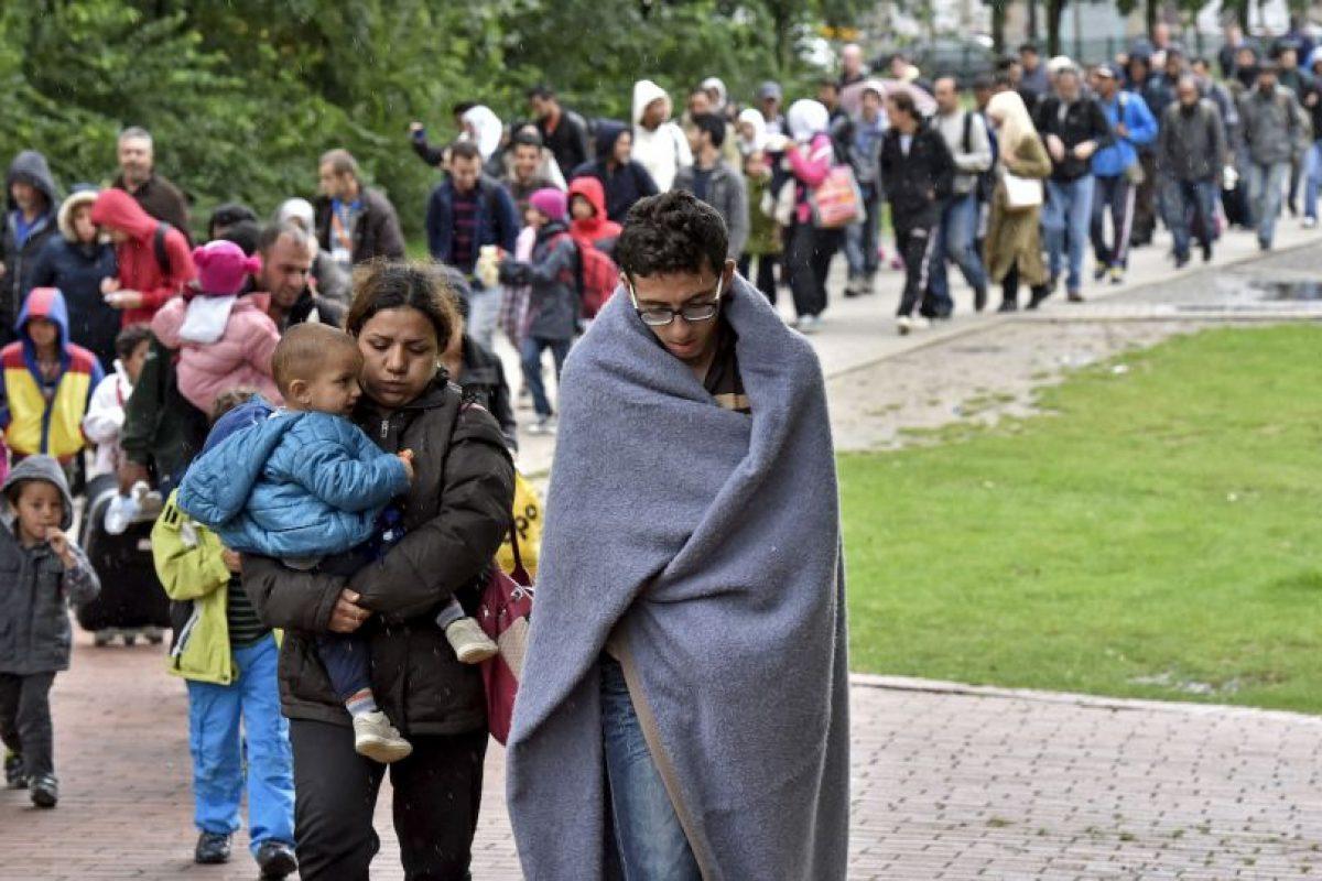 El gobierno se encargó de registrar a los refugiados. Foto:AP