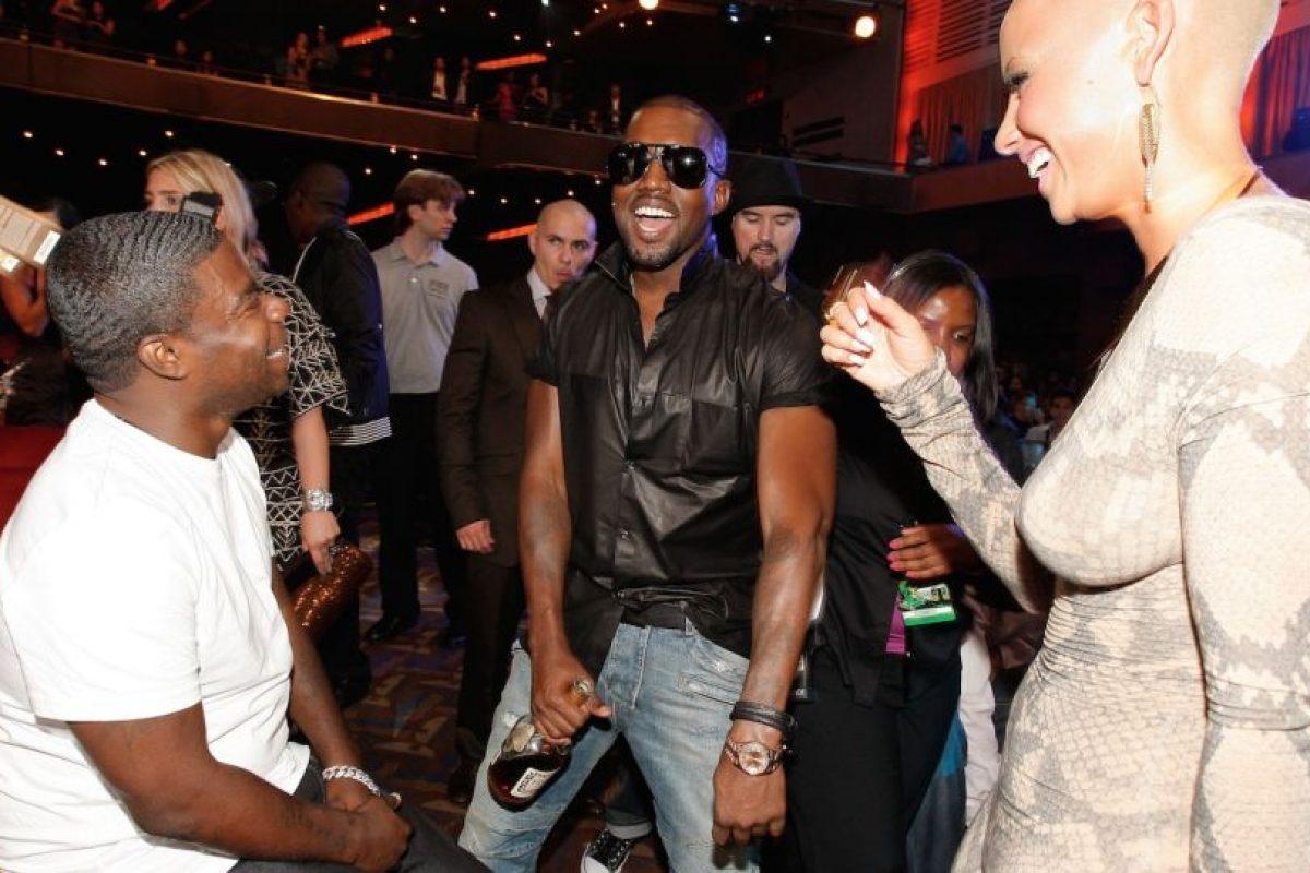 Kanye West en una fiesta Foto:Getty Images