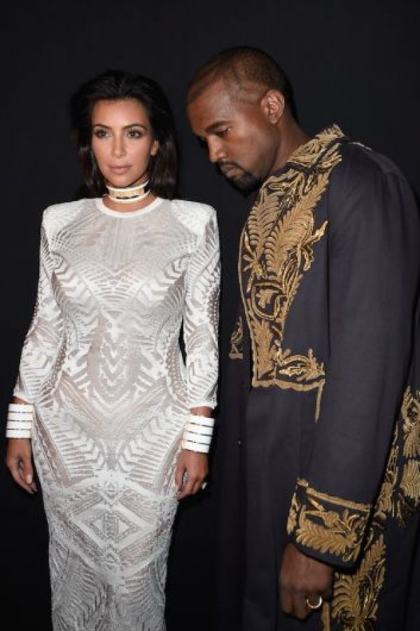 Un momento fashion junto a Kim Foto: Getty Images