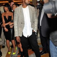 Kanye West en sus actuales fiestas Foto: Getty Images