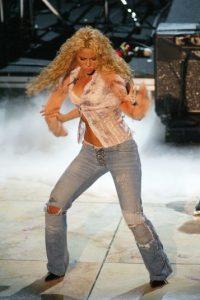 """La cantante era reconocida en Colombia, pero fue hasta su aparición en """"Sábado Gigante"""" que el mundo la conoció. Foto:Getty Images"""