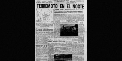 3. 31 de mayo de 1970, Chimbote, Perú: Desapareció por completo la comunidad de Yungay, cuya población era de 20 mil habitantes Foto:Arkivperu.com