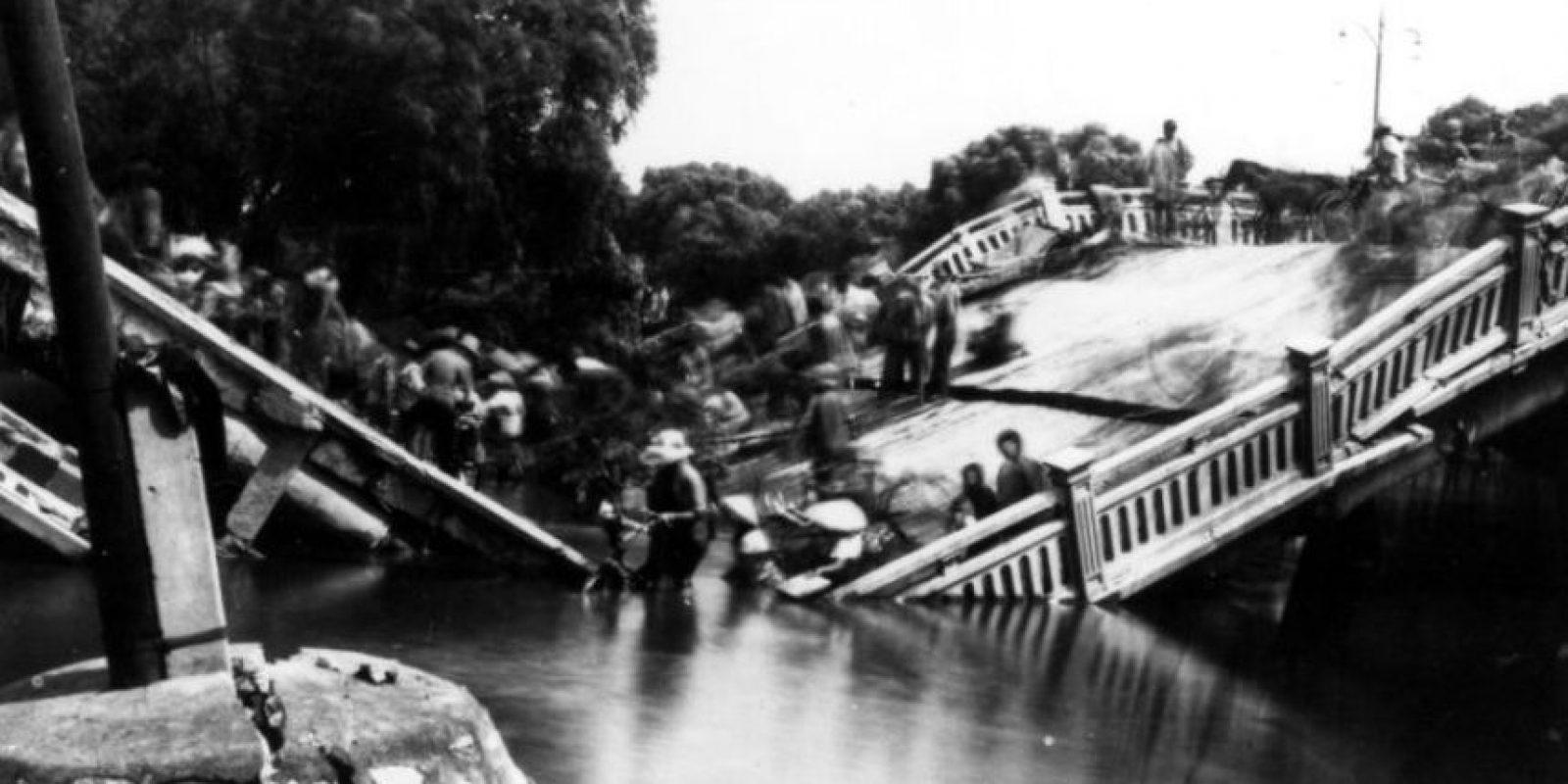 4. 28 de julio 1976, Tangshan, China: Con una magnitud de 7.5 se estima que pudo haber cobrado la vida de aproximadamente 655 mil personas Foto:Earthquake.usgs.gov