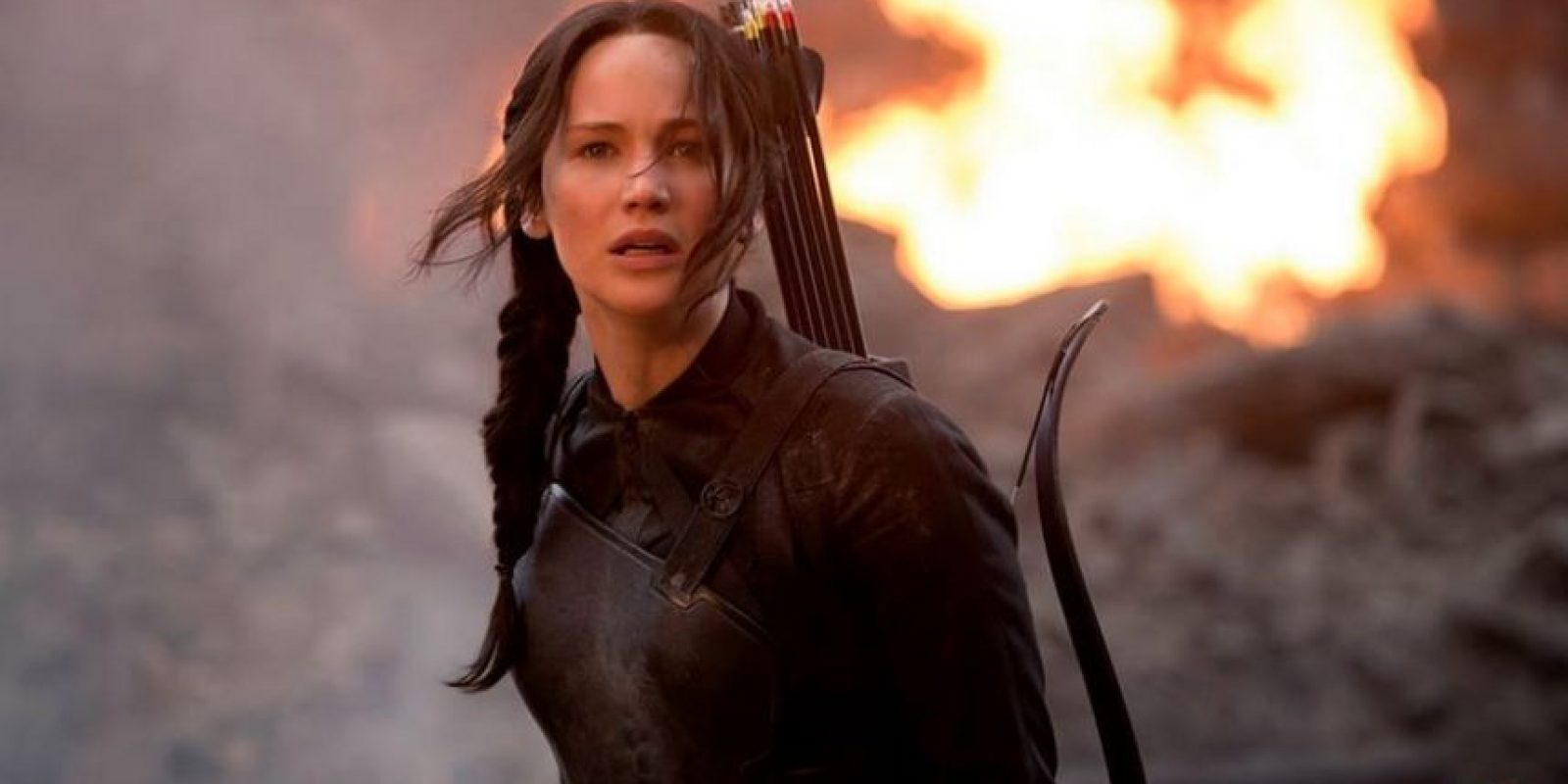 """16. Interpreta a """"Katniss Everdeen"""" en la cinta """"Los Juegos del Hambre"""". Foto:IMDb"""