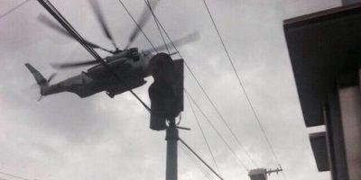 Embajada de EE.UU. explica incidente de helicóptero en zona 9