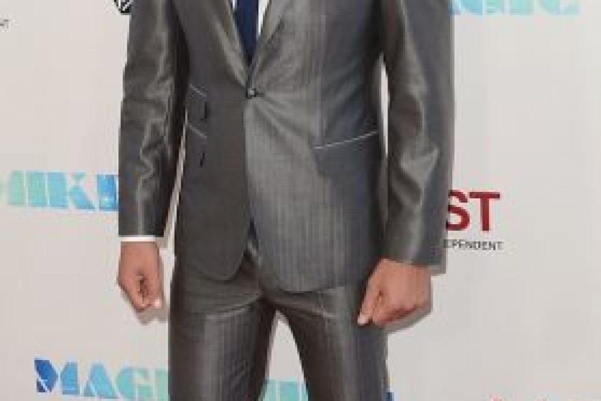"""En 2012, protagonizó la primera entrega de la película """"Magic Mike"""". Foto:Getty Images"""